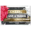House of Hampton Ideals of Style Night Textual Art on Wrapped Canvas