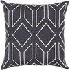 House of Hampton Honiton Geometric Linen Throw Pillow