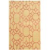 House of Hampton Cheshunt Hand-Tufted Beige/Brown Area Rug