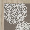 House of Hampton Mille Hand-Tufted Light Brown/Off White Indoor/Outdoor Area Rug
