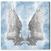 House of Hampton My Sky Wings Graphic Art on Wrapped Canvas