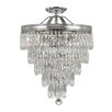 House of Hampton Robertville 3 Light Crystal Chandelier