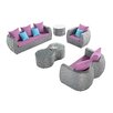 Ceets Clearview 5 Piece Seating Group with Cushions