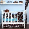 My Blankee Road Trip 6 Piece Crib Bedding Set