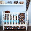 My Blankee Helicopters 6 Piece Crib Bedding Set