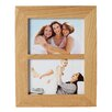 HamptonFrames New England Solid Oak Double Picture Frame