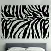 Kult Kanvas Zebra Animal Print Decal Vinyl Wall Sticker
