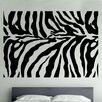 Kult Kanvas Wandsticker Zebra Animal Print Decal Vinyl