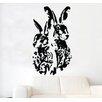 Kult Kanvas Hares Hare Shabby Wall Sticker