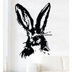 Kult Kanvas Hare Rabbit Bunny Shabby Wall Sticker