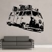Kult Kanvas Split Camper Volkswagen Campervan Wall Sticker