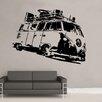 Kult Kanvas Wandsticker Split Camper Volkswagen Campervan