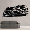 Kult Kanvas Splitscreen Camper Volkswagen Beetle Wall Sticker