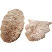 Origins Teppich aus Schafsfell in Nerzbraun