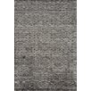 PAPILIO by Prado Rugs Diamond Hand-Knotted Gray Area Rug