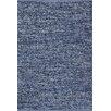 PAPILIO by Prado Rugs Handgefertigter Innenteppich Denim Jeans in Blau