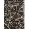 PAPILIO by Prado Rugs Rituals Handmade Black/Gray Area Rug