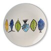 Blue Sky Ceramics 8.5'' School of Fish Plate