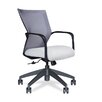 Via Seating Conference Seating Mid Back Mesh Chair with Loop Arm