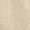 "Tesoro Headline 18"" x 18"" Porcelain Field Tile in Herald Ivory"