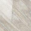 """Tesoro Vstone 19"""" x 19"""" Porcelain Field Tile in Nut Cross Semi Polished"""