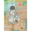 Les Petites Kasko Capsules Map by Les Petites Kasko Graphic Art