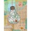 "LesPetitesKasko Poster ""Capsules Map"" von Les Petites Kasko, Grafikdruck"