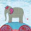 "LesPetitesKasko Poster ""Animals Eléphante"" von Les Petites Kasko, Grafikdruck"
