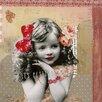 Les Petites Kasko Little Bohemian Girls P'tite Fille En Rose by Les Petites Kasko Graphic Art