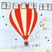 Les Petites Kasko Air Balloon Fly Me To The Moon by Les Petites Kasko Graphic Art