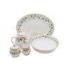Shinepukur Ceramics USA, Inc. Everglades Bone China Traditional Serving 5 Piece Dinnerware Set