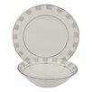 Shinepukur Ceramics USA, Inc. Spectrum Bone China 24 Piece Completer Set