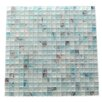 """Abolos Amber 0.63"""" x 0.63"""" Glass Mosaic Tile in Sky Blue"""