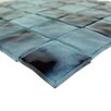"""Abolos Watermarks 2"""" x 2"""" Glass Mosaic Tile in Sky Blue"""