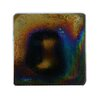 """Abolos Atmosphere 2"""" x 2"""" Glass Mosaic Tile in Multi Black"""