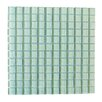 "Abolos Metro 1"" x 1"" Glass Mosaic Tile in Arctic"