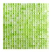 "Abolos Honey Berries 0.63"" x 0.63"" Glass Mosaic Tile in Pastel Green Matte"