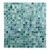 "Abolos Honey Berries 0.63"" x 0.63"" Glass Mosaic Tile in Pearl Ocean"