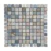 """Abolos 1.87"""" x 0.87"""" Stone Mosaic Tile in Desert Gray"""