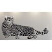 Walplus Swarovski Leopard Animal Wall Sticker