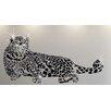 Walplus Swarovski Leopard Animal Wall Sticker