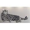 Walplus Wandsticker Swarovski Leopard Animal