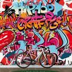 Walplus Large Street HipHop Graffiti Wall Mural