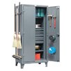 "Strong Hold Products 78""H x 36""W x 24""D 2 Door Storage Cabinet"