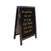 Update International A-Frame Write-on Free-Standing Chalkboard