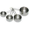 Update International 4 Piece Stainless Steel Measuring Cup Set