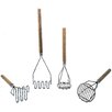 Update International Round Masher with Wood Handle