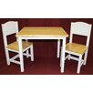 eHemco Kids 3 Piece Table and Chair Set