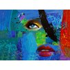 Finesse Décor 'Abstract Faces' Graphic Art on Canvas