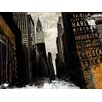 Finesse Décor 'Drowning City' Graphic Art on Canvas